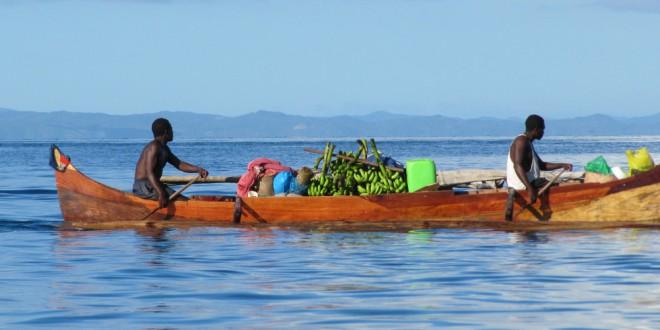 Piraguas en Madagascar