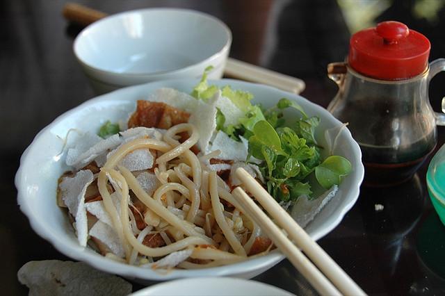 Un plato de Cao Lau