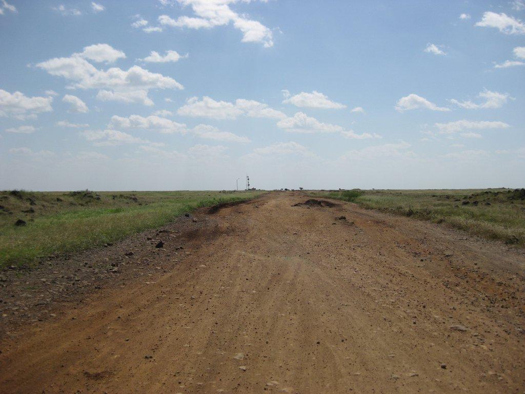 Carretera en Kenia