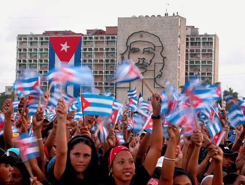 Manifestación pro socialismo