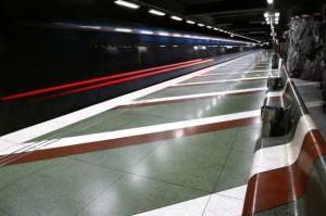 Asientos metro Estocolmo
