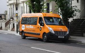 Easybus, Londres