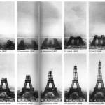Fases de la construccion de la Torre Eiffel