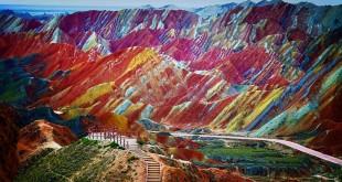 Montañas coloradas Danxia, CHina