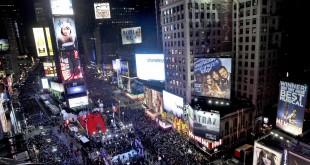 Noche vieja, Times Square, New York