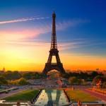 Torre Eiffel con filtro instagram