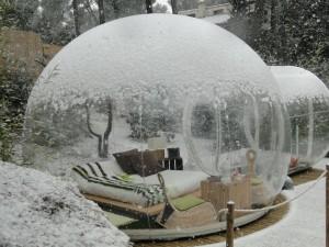 Attrap Reves Burbuja Con Nieve