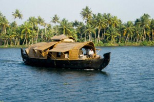 Backwaters, la India