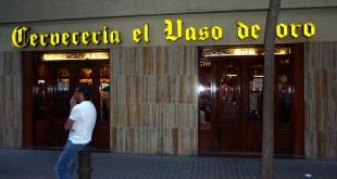 el vaso de oro barcelona
