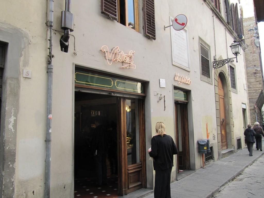 Gelateria Vivoli, Florencia