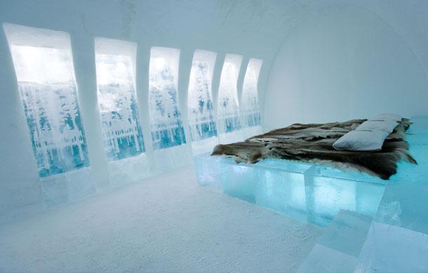 Ice hotel, jukkasjarvi, suecia