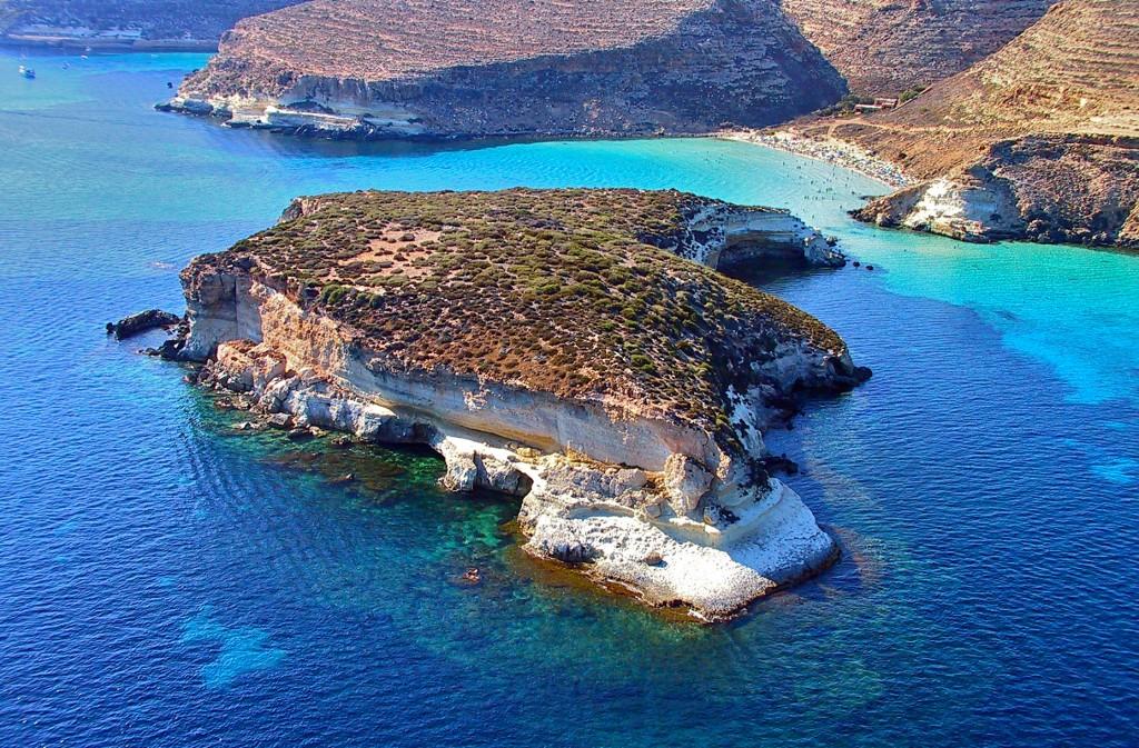 Isla de los conejos, Lampedusa 1