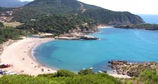 Playa de Chia, Cerdeña