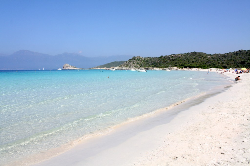 Playa loto, Córcega
