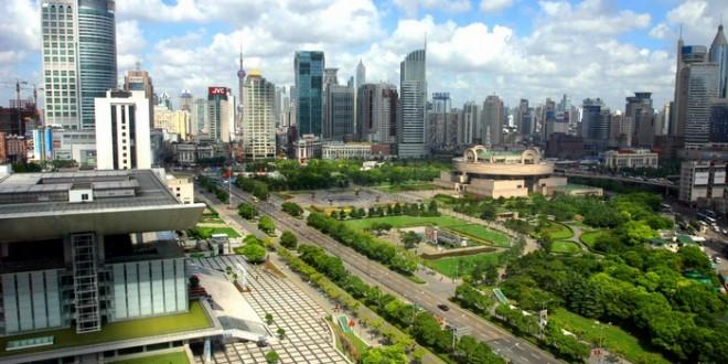 Plaza del pueblo, shanghai