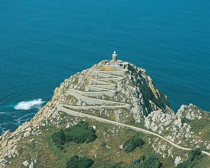 Faro en las Islas Cíes