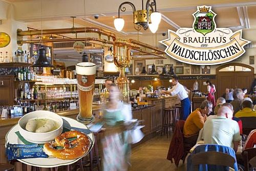 La Brauhaus Waldschloesschen en Dresde