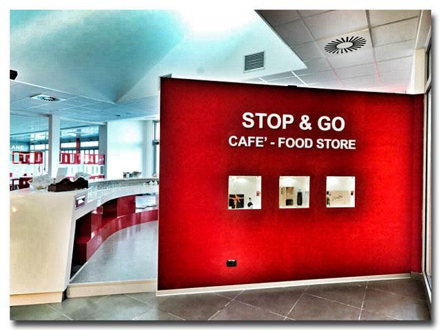Restaurante stop & go, Maranello