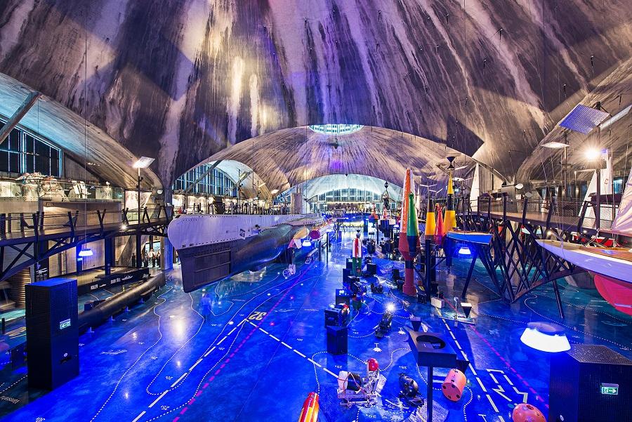 Imagen del submarino en el Lennusadam