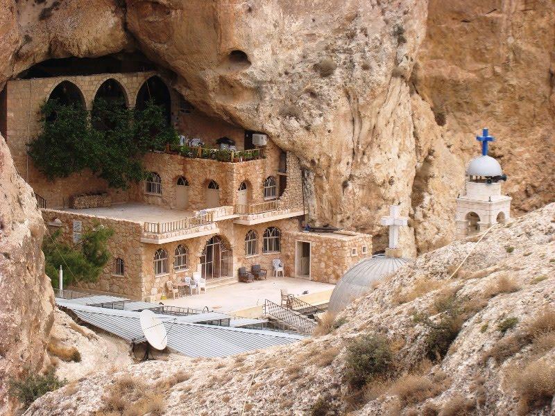 Monasterio de Mar Takla en Maalula