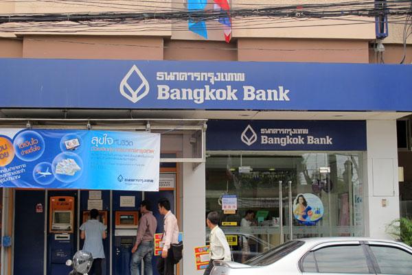 Oficina de Bangkok bank en Bangkok