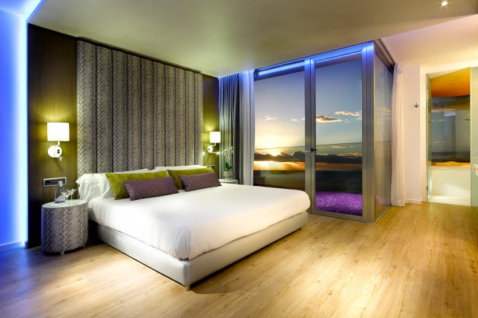 Una suite del hard rock hotel ibiza