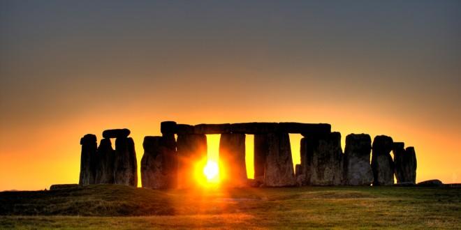 Stonehenge puesta de sol