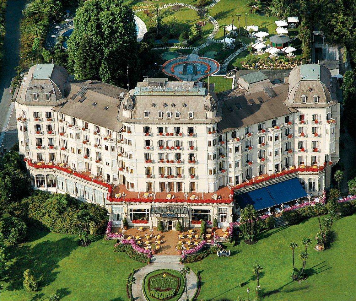 El hotel Regina Palace en Stresa