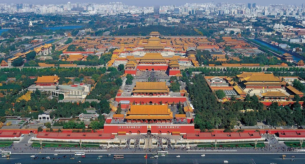 Resultado de imagen de ciudad prohibida de pekin