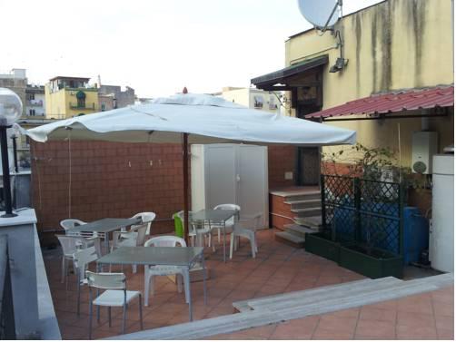 La terraza de la Storia di Napoli