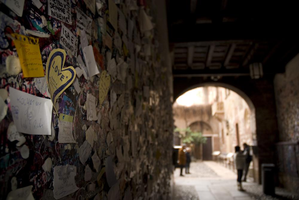 Muro de los enamorados, Verona