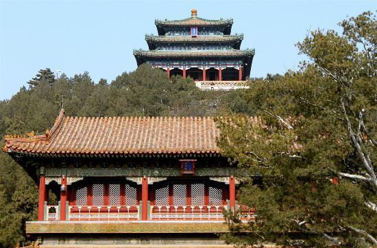 Pagodas en jingshan park