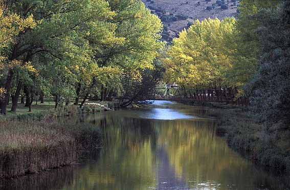 El rio Duero en Soria