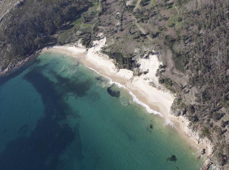 Playa de Gures, Cee