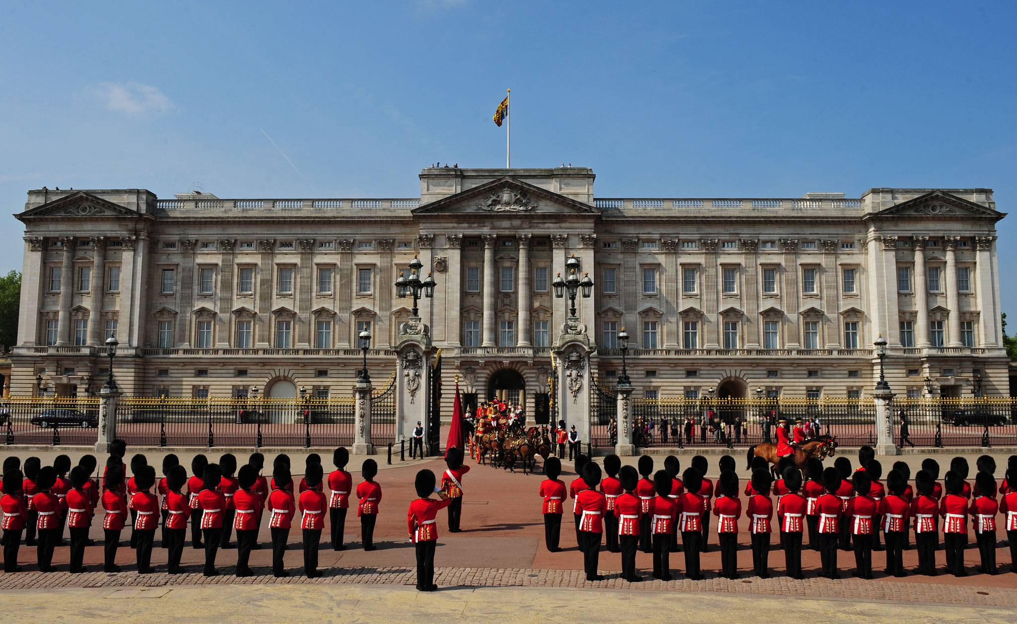 Buckingham palace, Londres