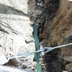 Rio guadalhorce desde el puente colgante