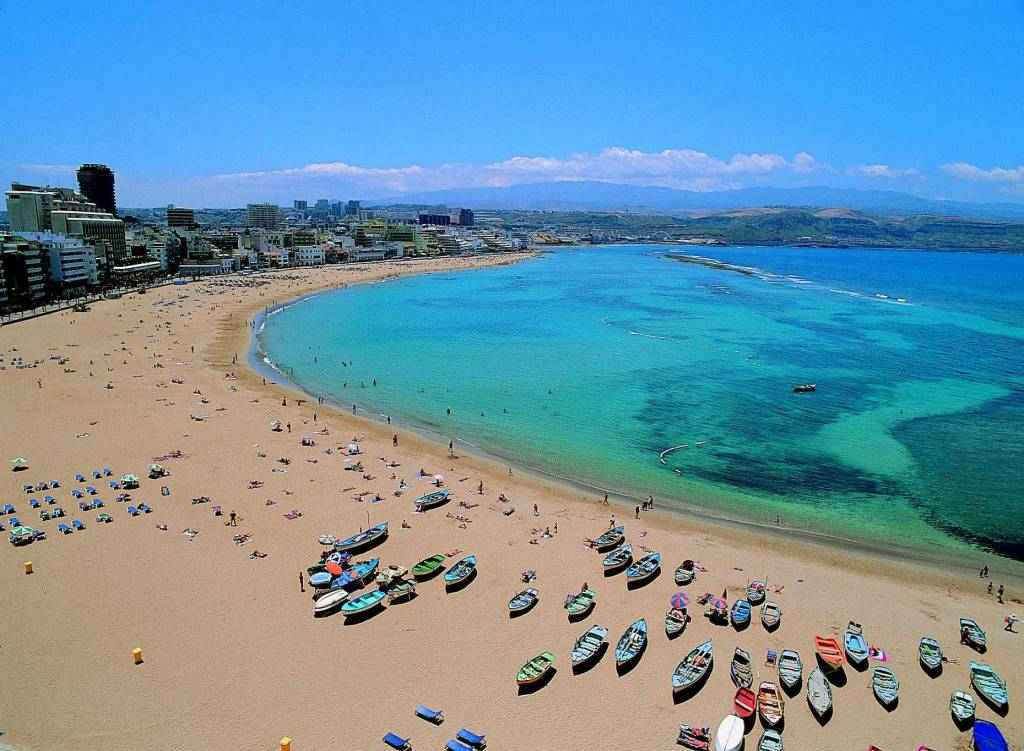 Playa las canteras, Gran Canaria