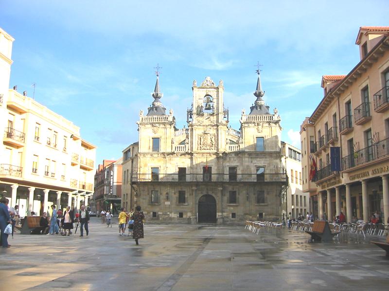 astorga plaza mayor