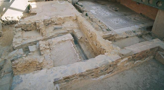 Ruinas romanas en Astorga