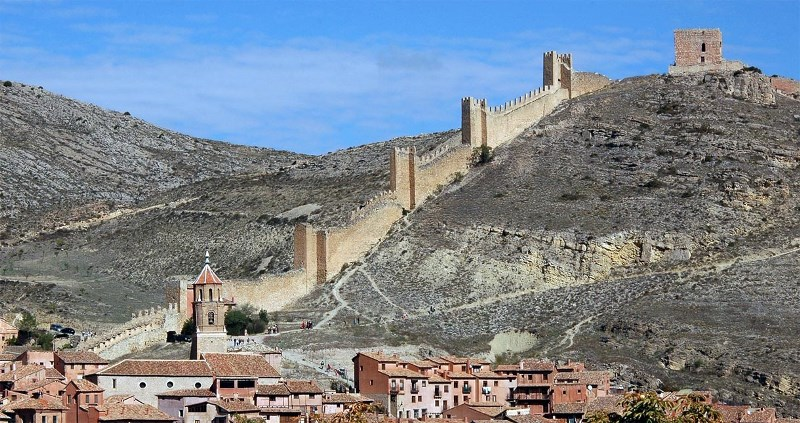 castillo el andador albarracin