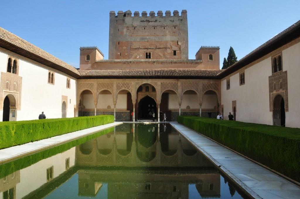 palacio nazaries alhambra de granada