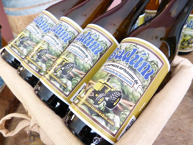 Cervezas artesanas Badum