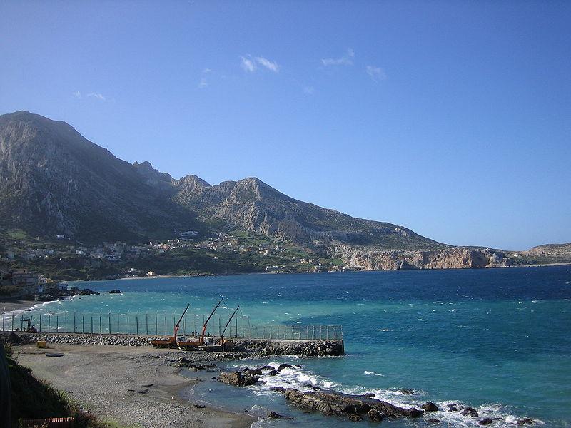 Playa de Benzú, en Ceuta