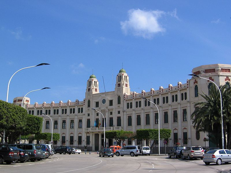 sede del gobierno de melilla
