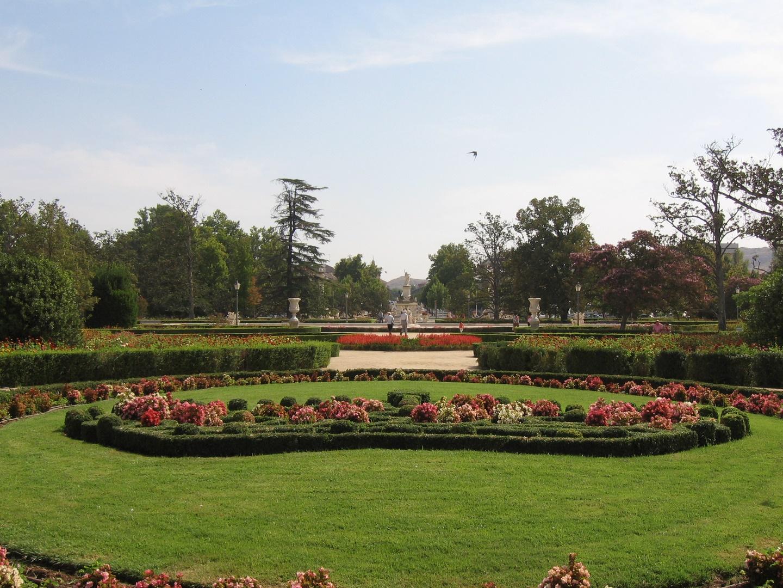 Jardín parterre, Aranjuez