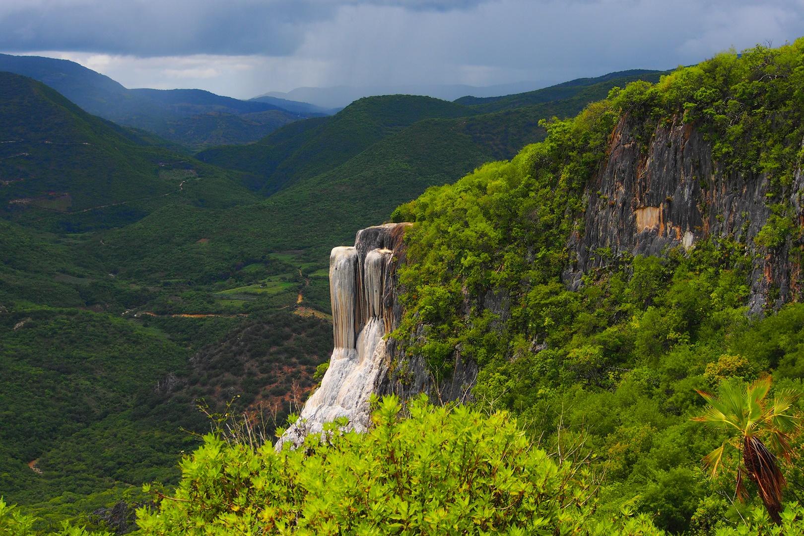 Cascadas petrificadas de Oaxaca