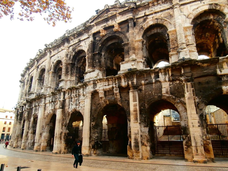 El anfiteatro de Nimes