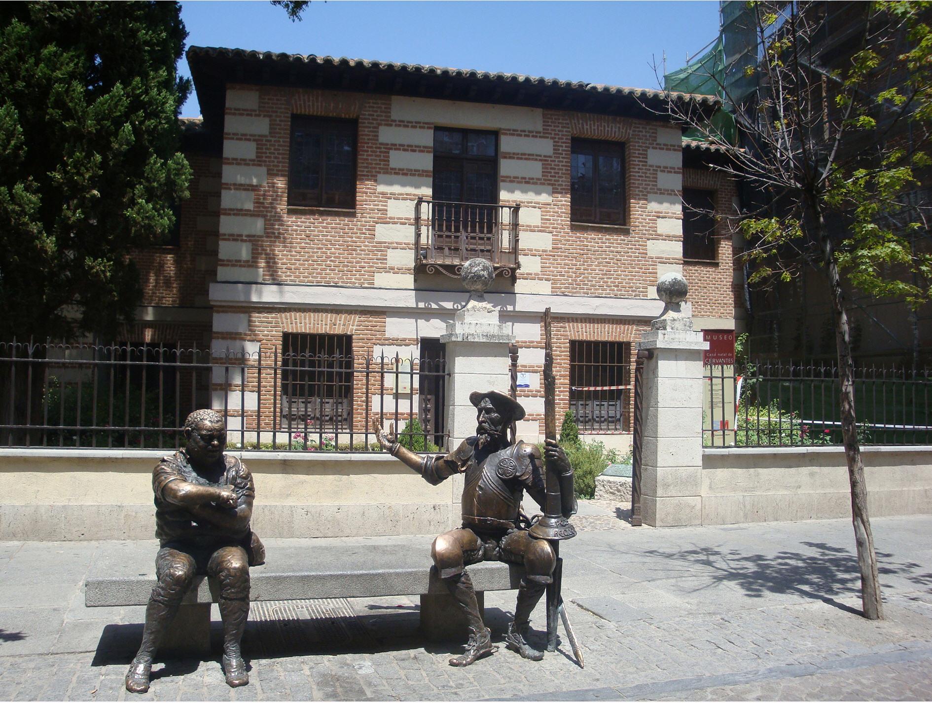 Casa de Miguel de Cervantes en Alcalá de Henares