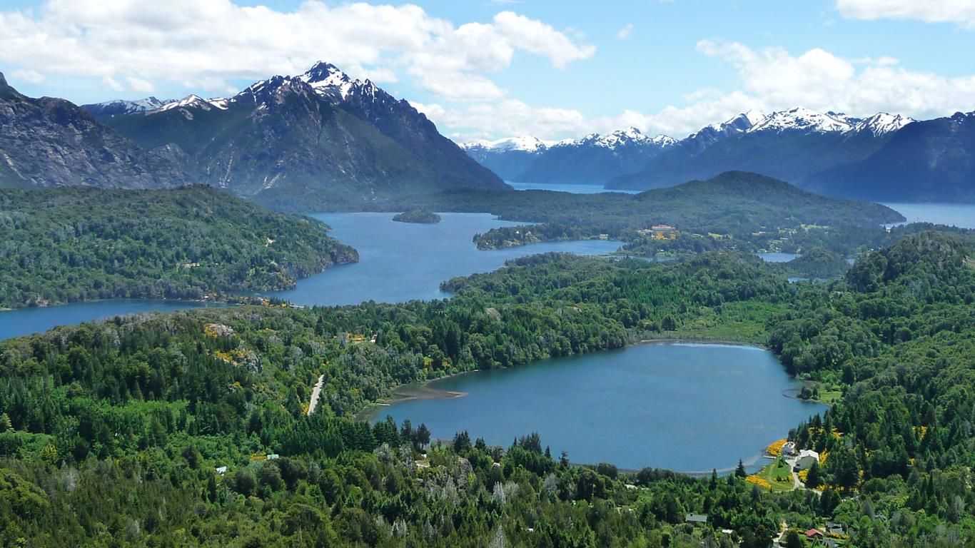 Unas vistas de Bariloche
