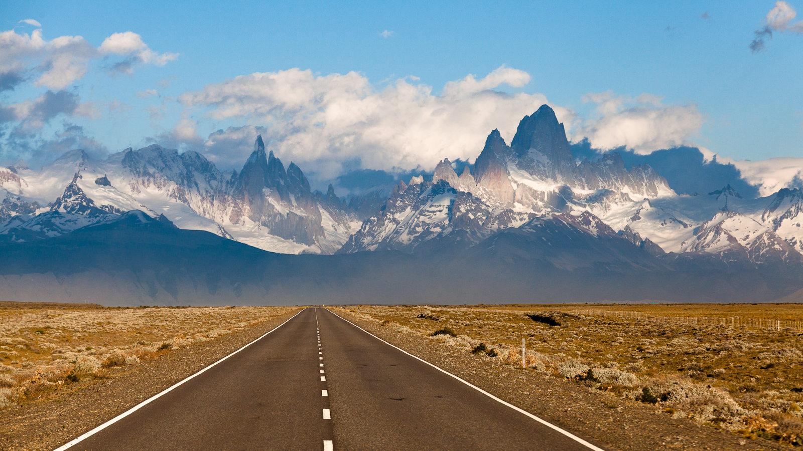 Una carretera en la Patagonia